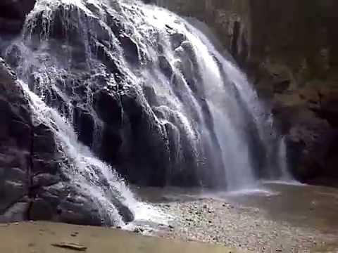 Pantai Air Terjun Banyu Anjlok Youtube Lenggoksono Coban Kota Malang