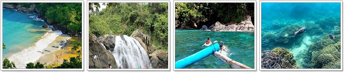Wisata Pantai Lenggoksono Malang Coban Banyu Anjlok Kota