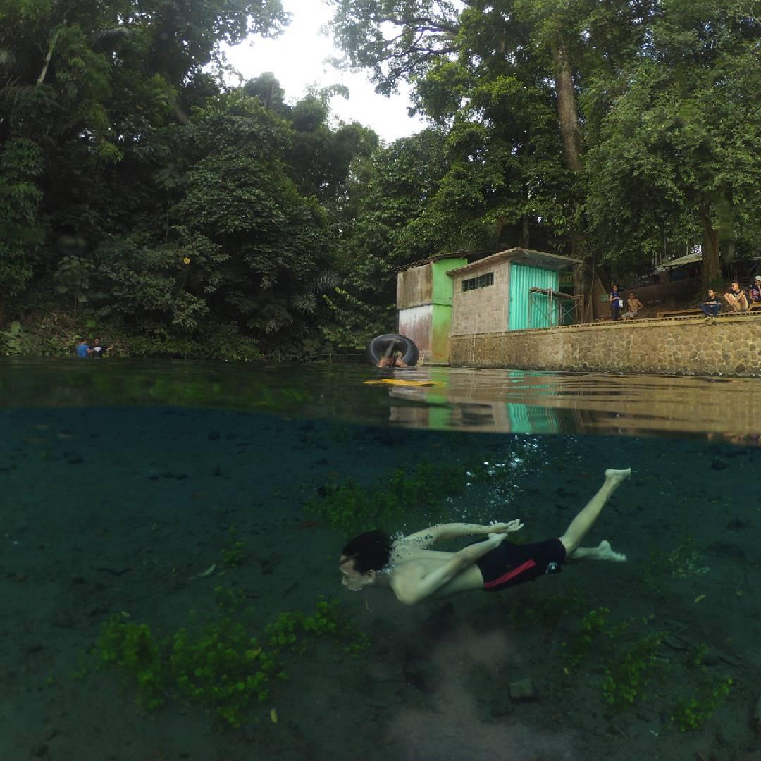 Jernih Mata Air Sumber Sirah Spot Snorkling Tawar Malang Malang1