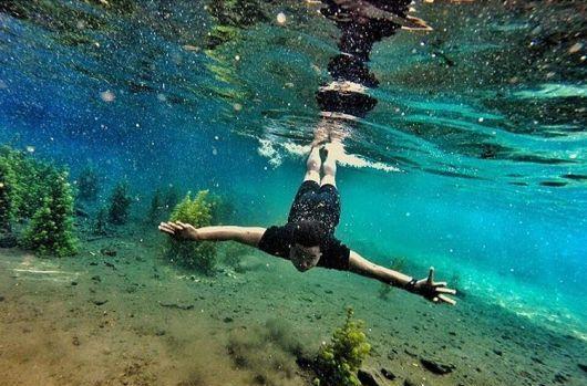 Spot Foto Underwater Malang Sumber Sirah Kota