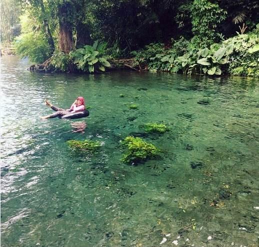 Wisata Sumber Sirah Malang Aquascape Raksasa Manusia Kita Bisa Nyewa