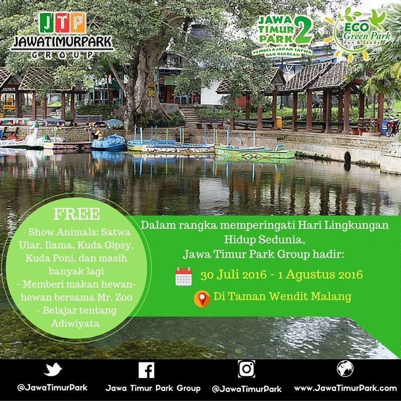 Jawa Timur Park Twitter Hadir Taman Wisata Air Wendit Moment