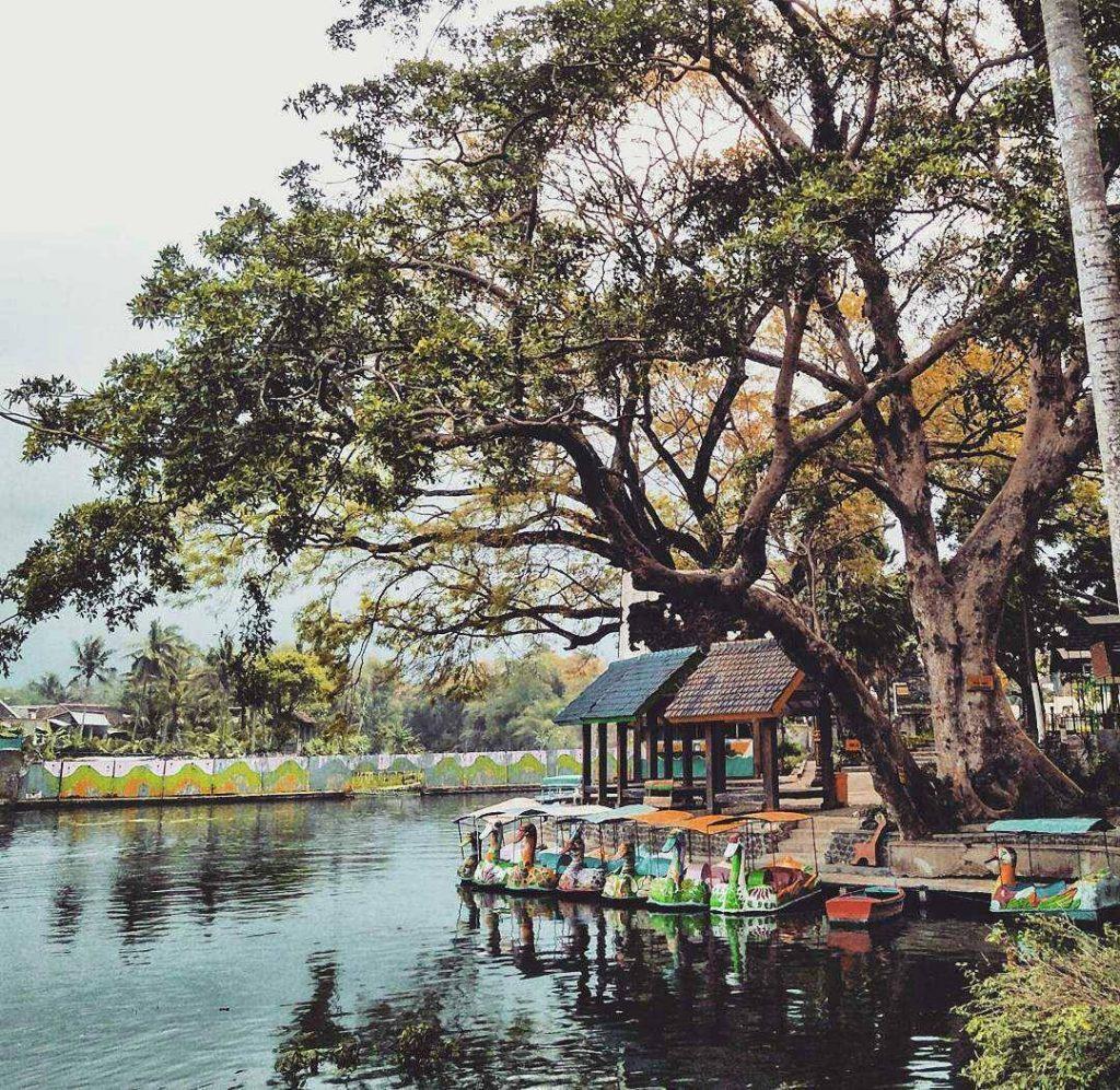 Pemandian Alami Malang Air Jernih Menyegarkan Traveling Yuk Wendit Taman