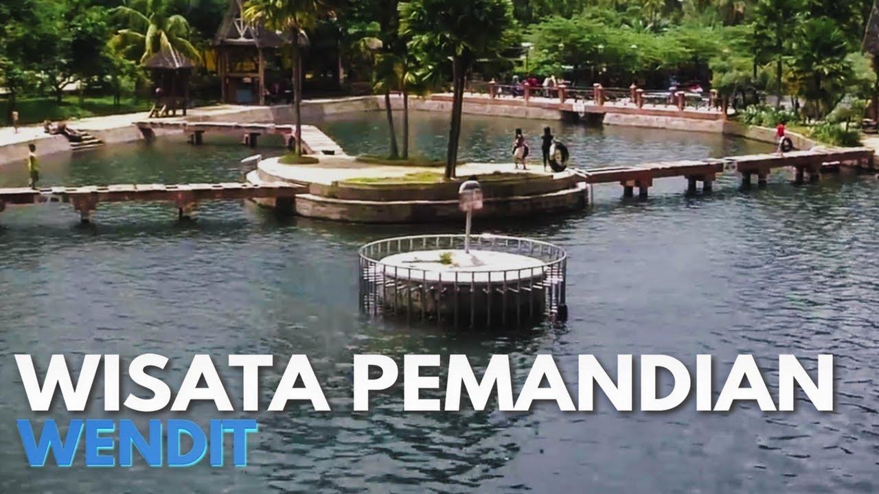 Wisata Pemandian Wendit Malang Youtube Faris Kota Taman Air