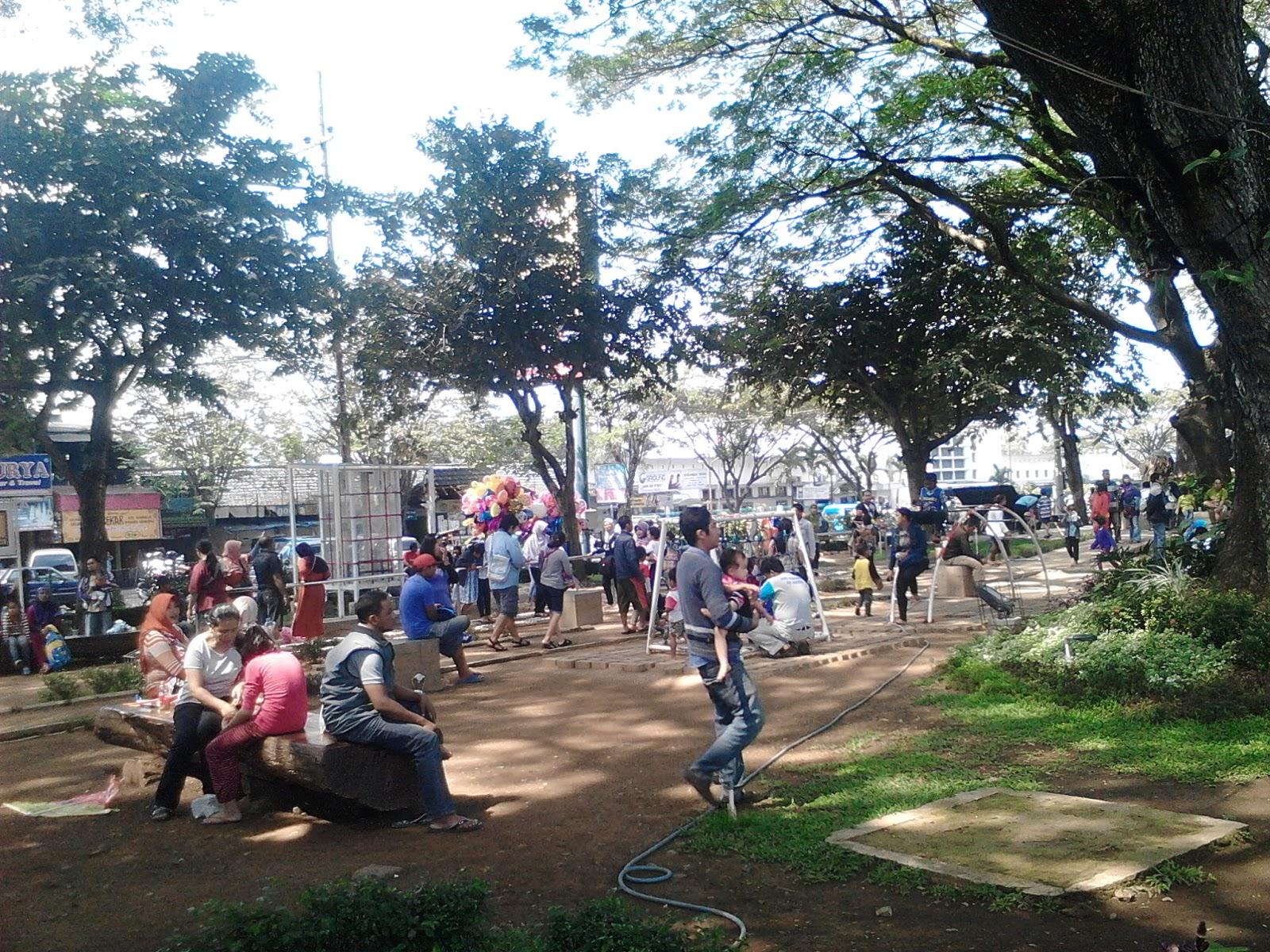 Jalan Taman Bentoel Trunojoyo Tamannya Cerdas Kota Malang