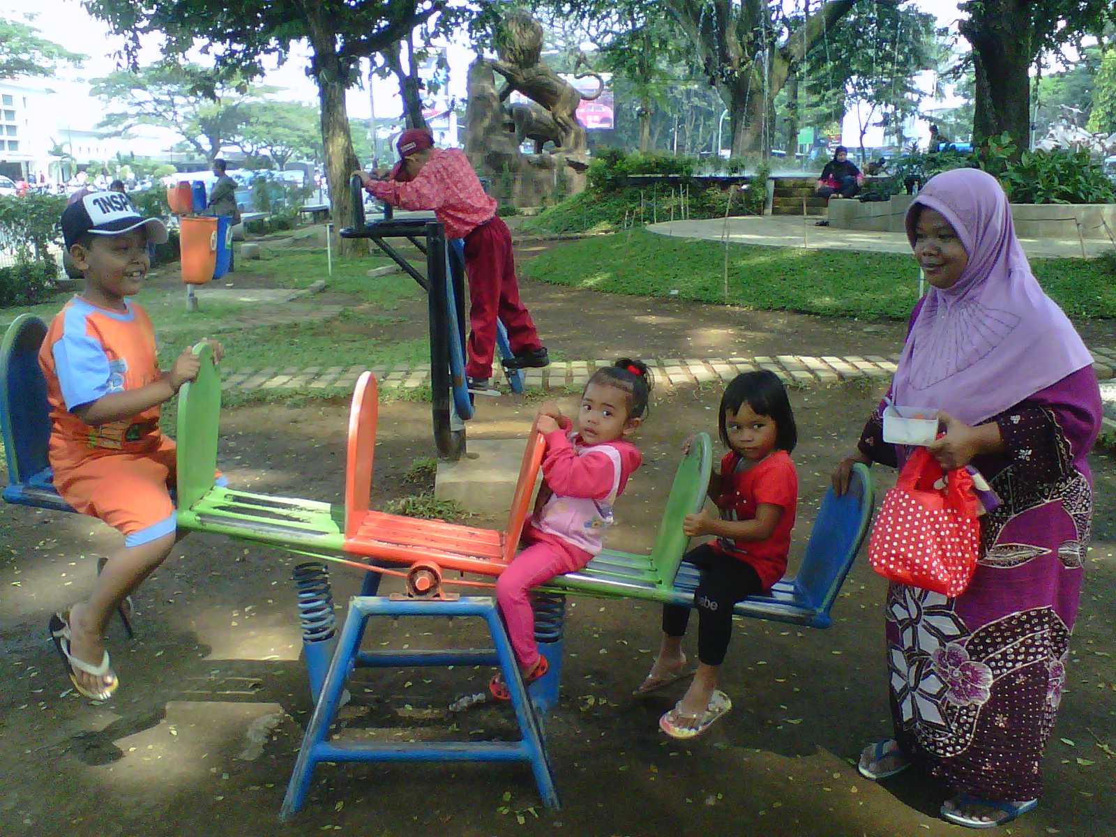 Taman Bentoel Trunojoyo Malang Wisata Cerdas Kota