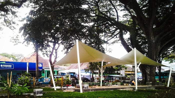 Taman Trunojoyo Kota Bernuansa Singo Edan Ngalam Create Site Bentoel