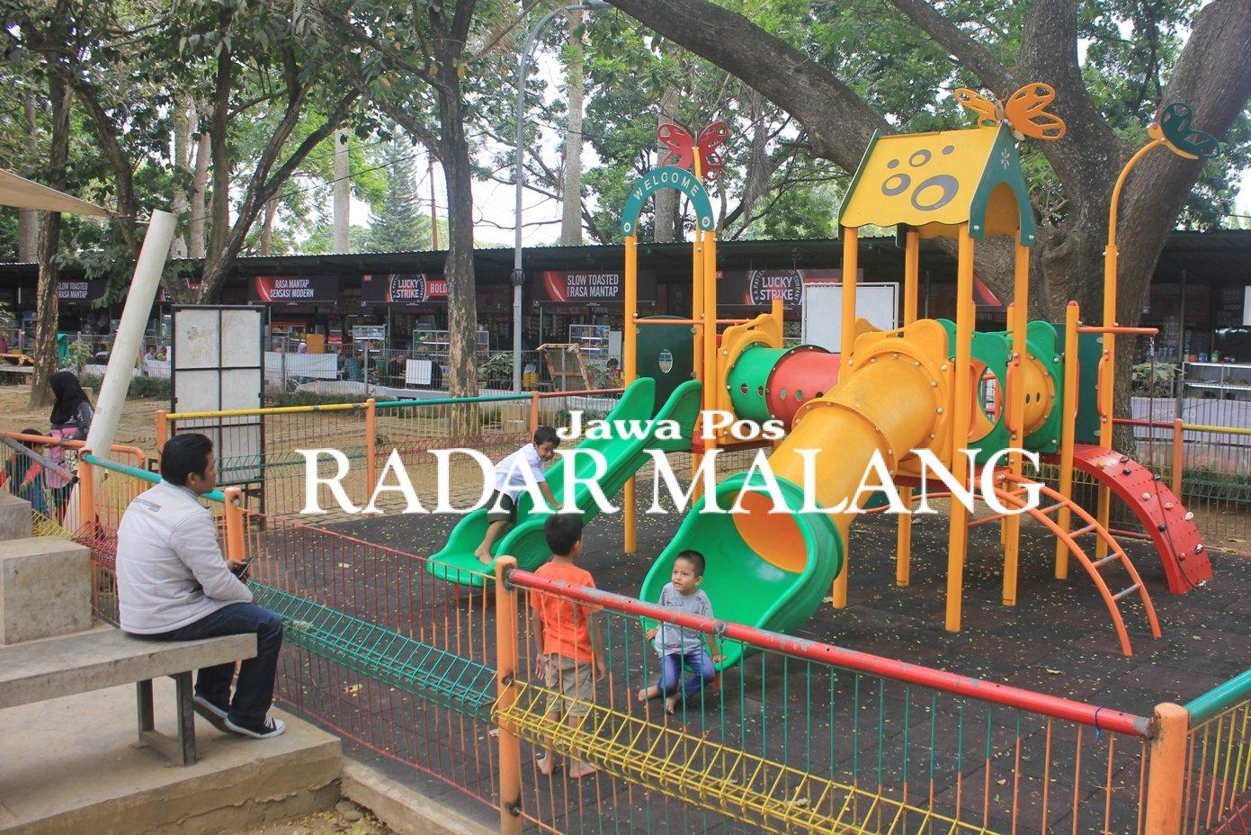 Taman Trunojoyo Wujud Malang Kota Layak Anak Radar Online Suasana