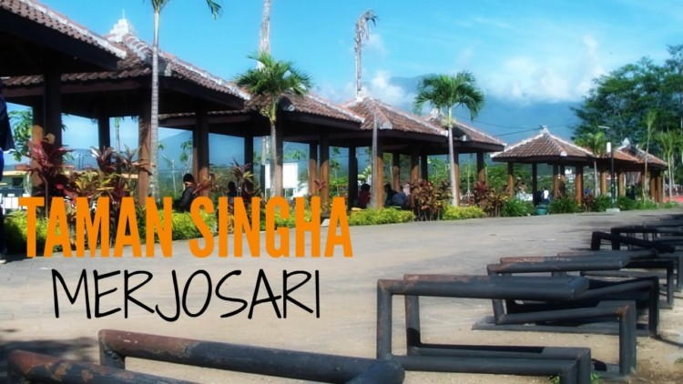 Tempat Wisata Malang Patut Kamu Kunjungi Taman Singha Merjosari Bentoel