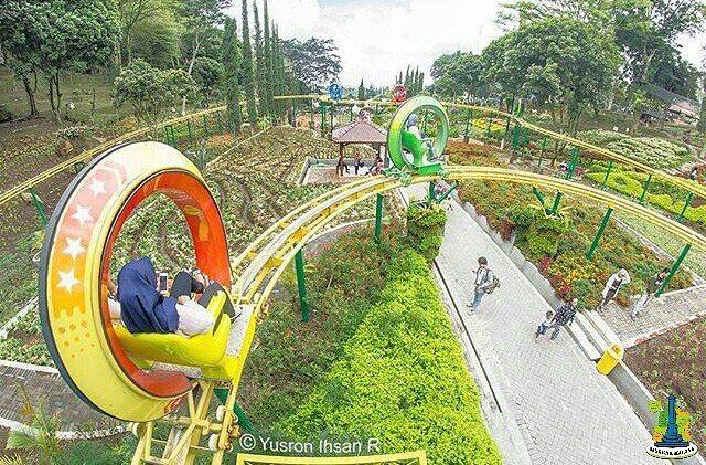 Taman Cerme Kota Malang Alamat Wisata Bunga Selecta Batu Terompet