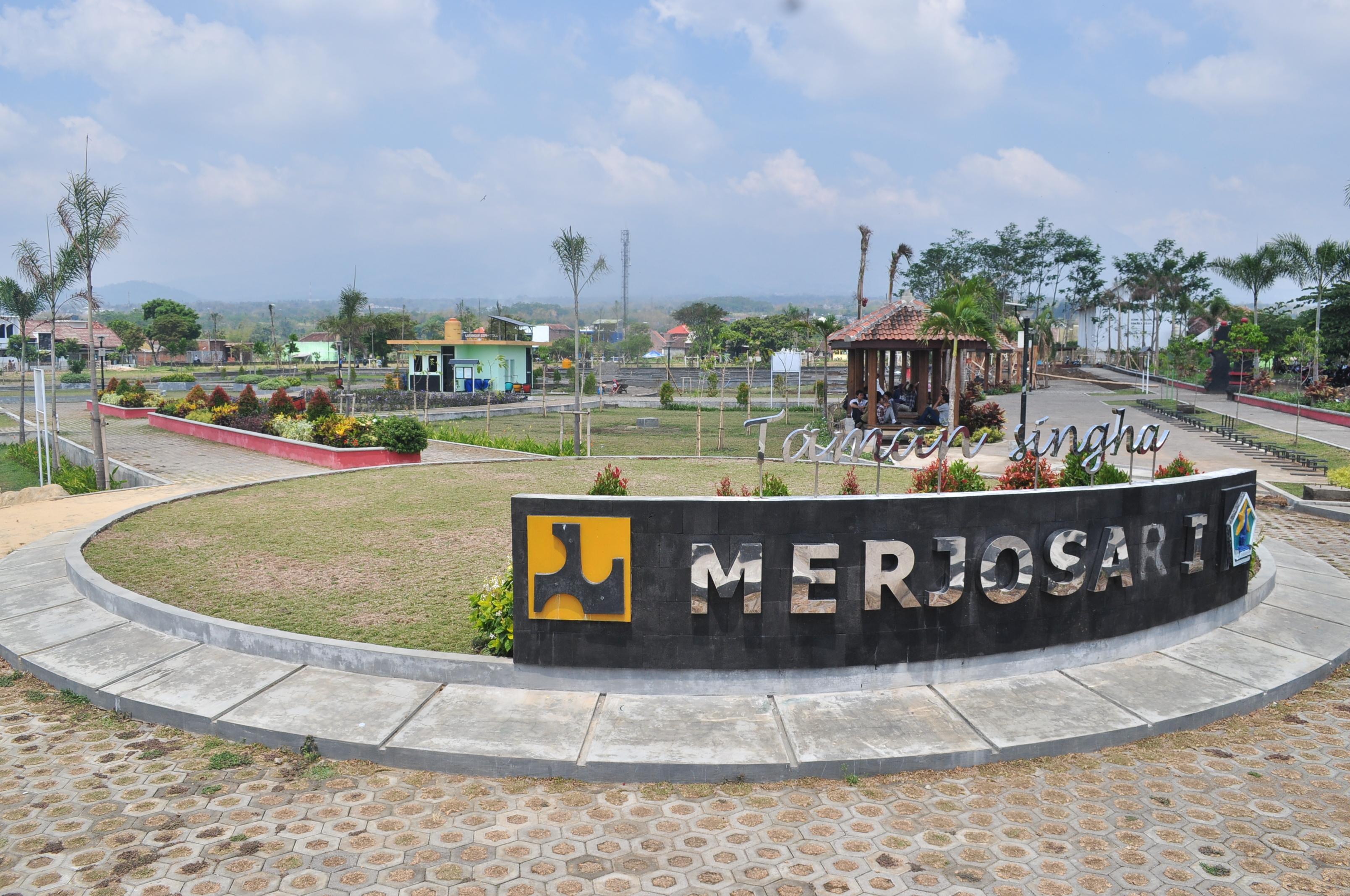 8 Taman Kota Romantis Malang Traveling Yuk Singha Merjosari Image
