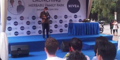 Bkpm Kota Malang Jatim Taman Merbabu Diresmikan Nivea