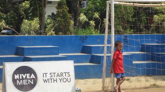 Lapangan Futsal Mini Picture Merbabu Family Park Malang Taman Nivea