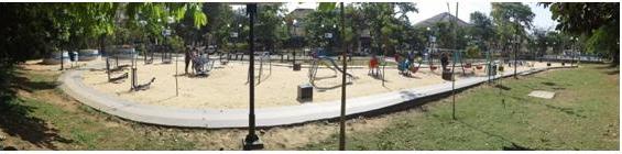 Pengantar Arsitektur Lanskap Analisis Merbabu Family Park Kota Taman 1