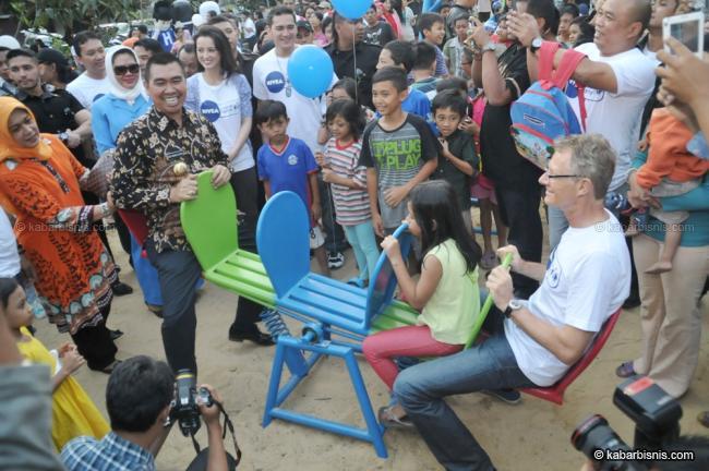 Pt Beirsdorf Indonesia Bangun Merbabu Family Park Momen Bisnis Taman