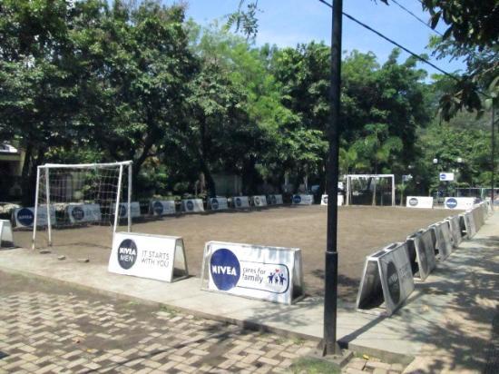 Taman Bermain Anak Picture Merbabu Family Park Malang Area Futsal