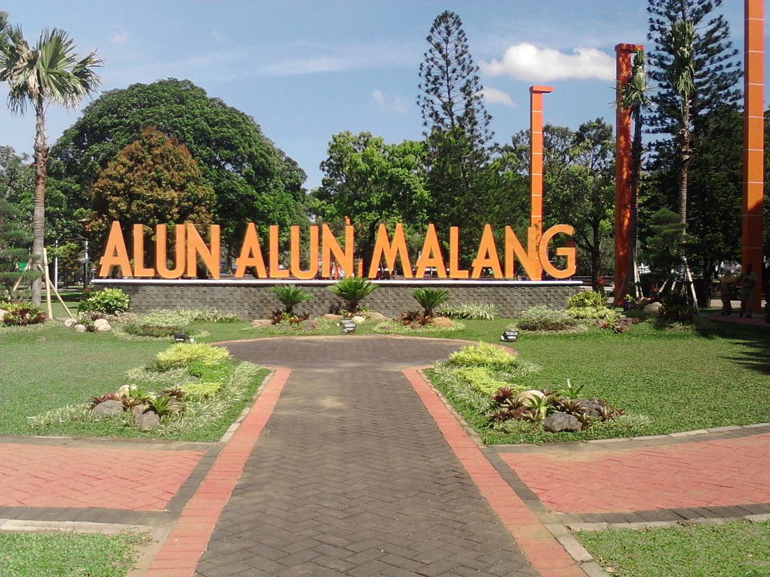 Taman Kota Malang Keren Banget Cocok Buat Hangout Alun 7