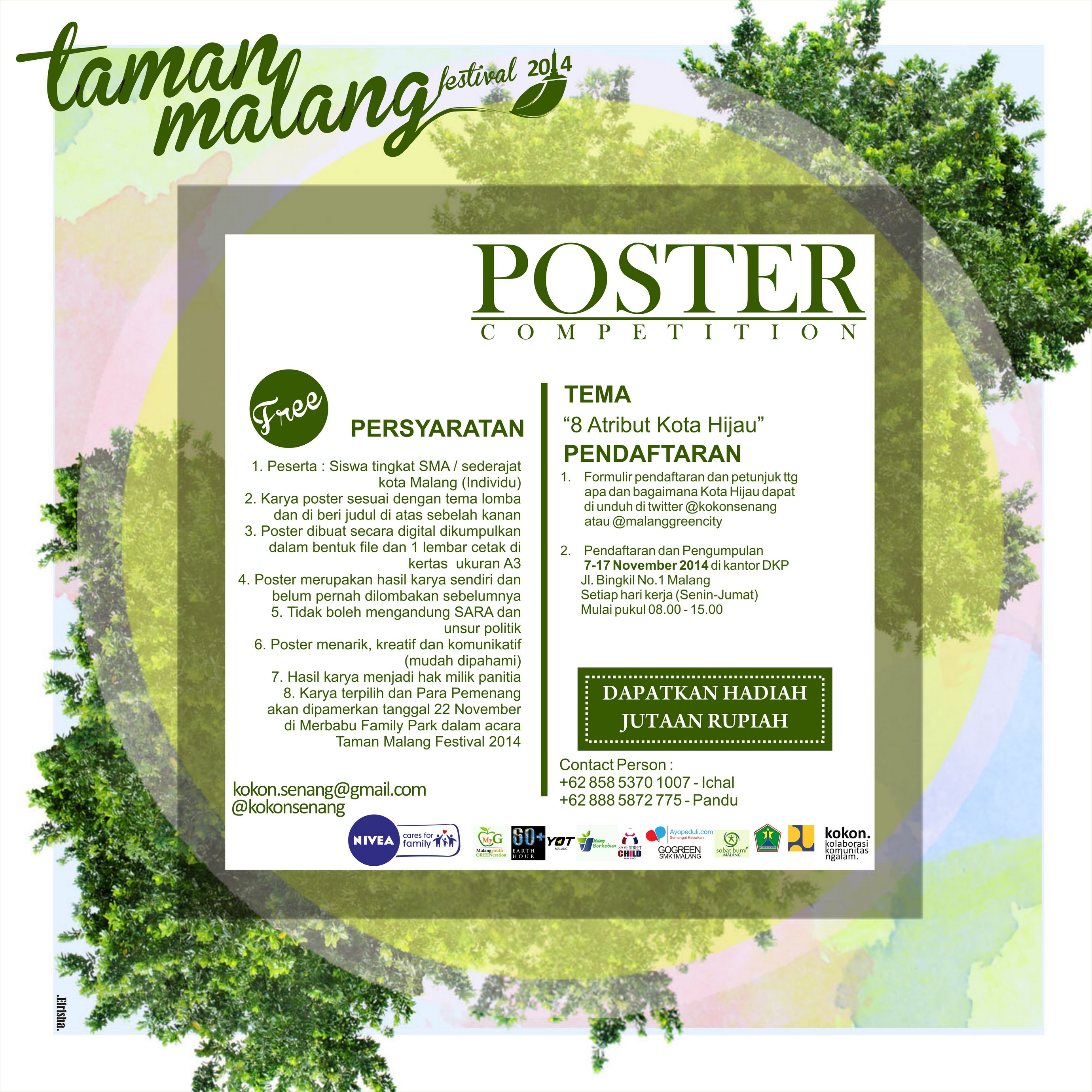 Taman Malang Festival Media Center Kendedes Info Publik Kota Lomba