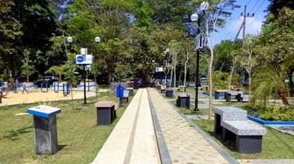 Taman Merbabu Family Park Kota Malang Wongcrewchild Fasilitas Nivea