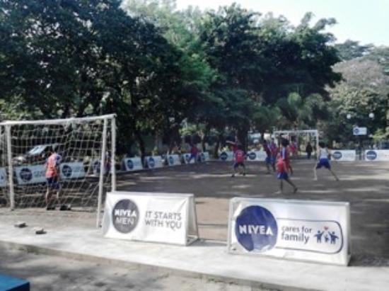 Taman Nivea Merbabu Picture Family Park Malang Arena Bermain Futsal