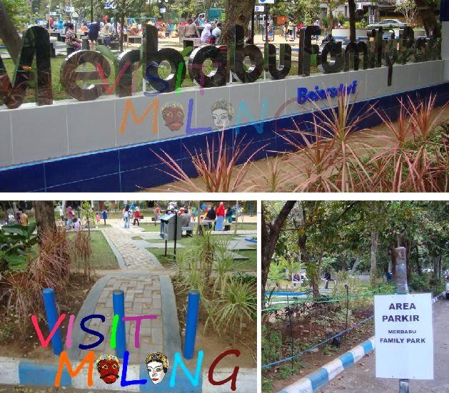 Visit Malang Taman Pilihan Keluarga Merbabu Family Park Menuju Bukanlah