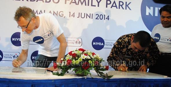 Wali Kota Malang Resmikan Merbabu Family Park Media Center Moch