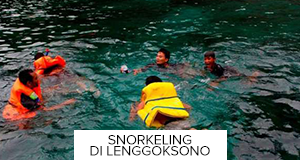 Snorkeling Lenggoksono Sawojajar Adventure Pantai Terletak Kecamatan Pujiharjo Kab Malang