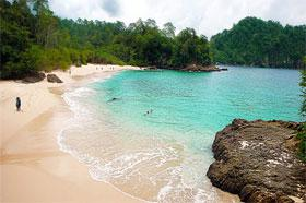 Suarasurabaya Net Kelana Kota Lima Pantai Unik Eksotik Teluk Hijau
