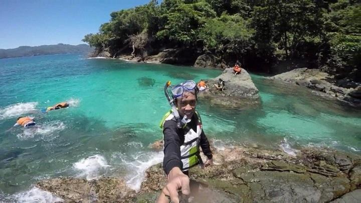 Teluk Kletekan Spot Snorkeling Rahasia Malang Sportourism Id Kota