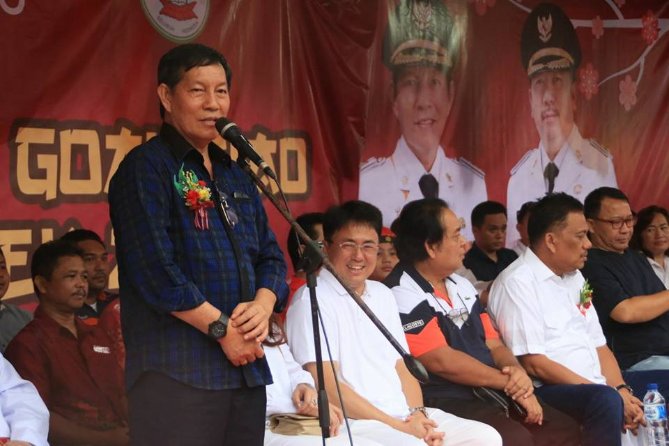 Hadiri Perayaan Cap Meh 2018 Walikota Manado Gsvl Janji Bangun