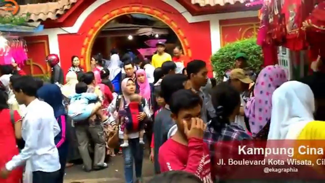 Kampung Cina Kota Wisata Cibubur Youtube Manado