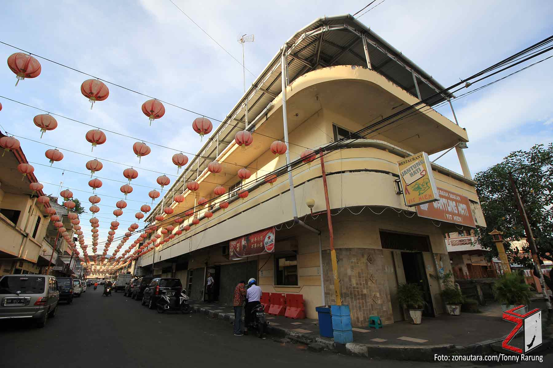 Manado Kampung Cina Zona Utara Kota