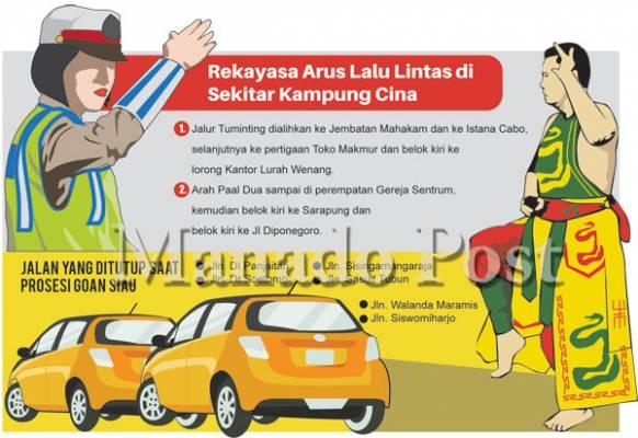 Palakat Hari Enam Jalan Pusat Kota Manado Ditutup Jumat 2
