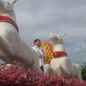 Ribuan Warga Padati Kampung Cina Saksikan Cap Meh Manado Pelaksanaan