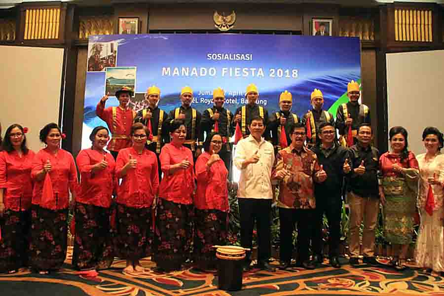 Sosialisakan Manado Fiesta 2018 Bandung Walikota Ajak Kampung Cina Kota