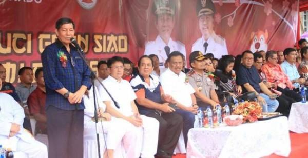 Speednews Manado Perayaan Cap Meh Lumentut Janji Bangun Tribun Wali