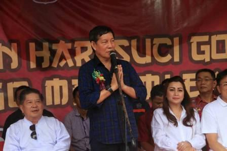 Walikota Vicky Lumentut Janji Bangun Tribun Kampung Cina Manado Sulutdaily