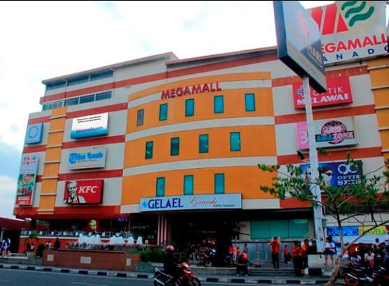4 Tempat Belanja Manado Layak Dikunjungi Megamall Kawasan Boulevard Kota