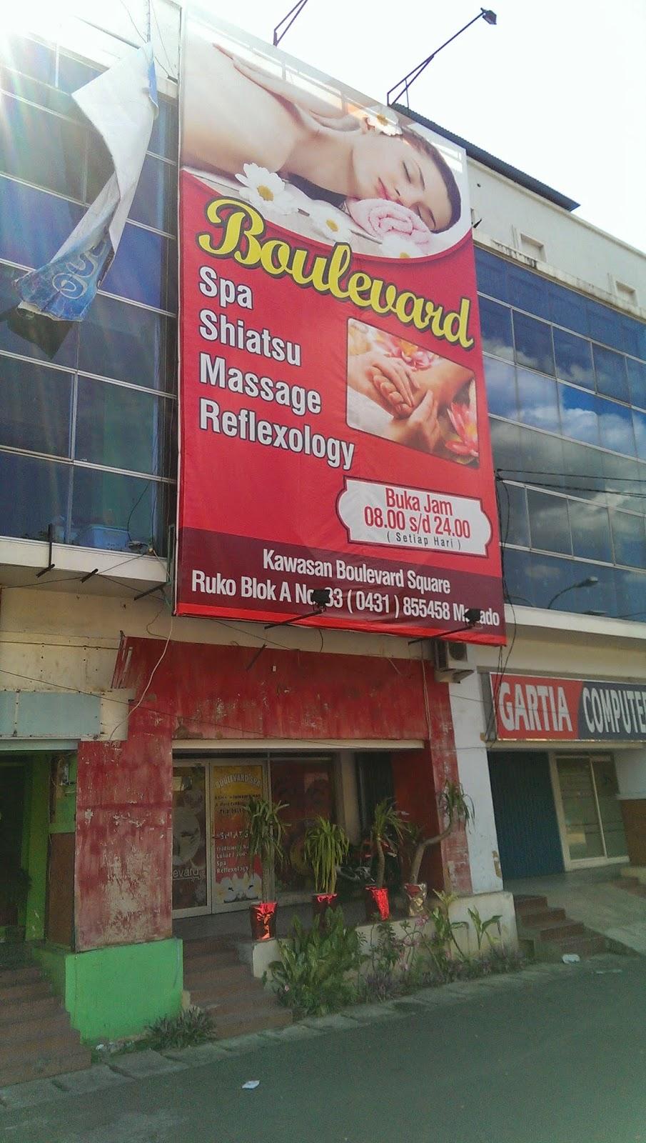 Boulevard Spa Manado Front Quality Hotel Massage Parlour 200 000
