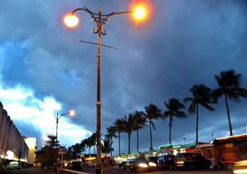 Kawasan Boulevard Manado Sulawesi Utara Pusat Jajanan Khas Kota Waktu