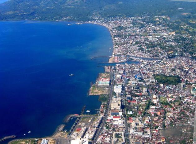 Kawasan Boulevard Manado Wisata Negeri Kota