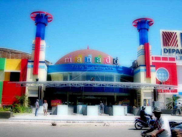 Kawasan Mega Mas Manado Town Square Boulevard Kota