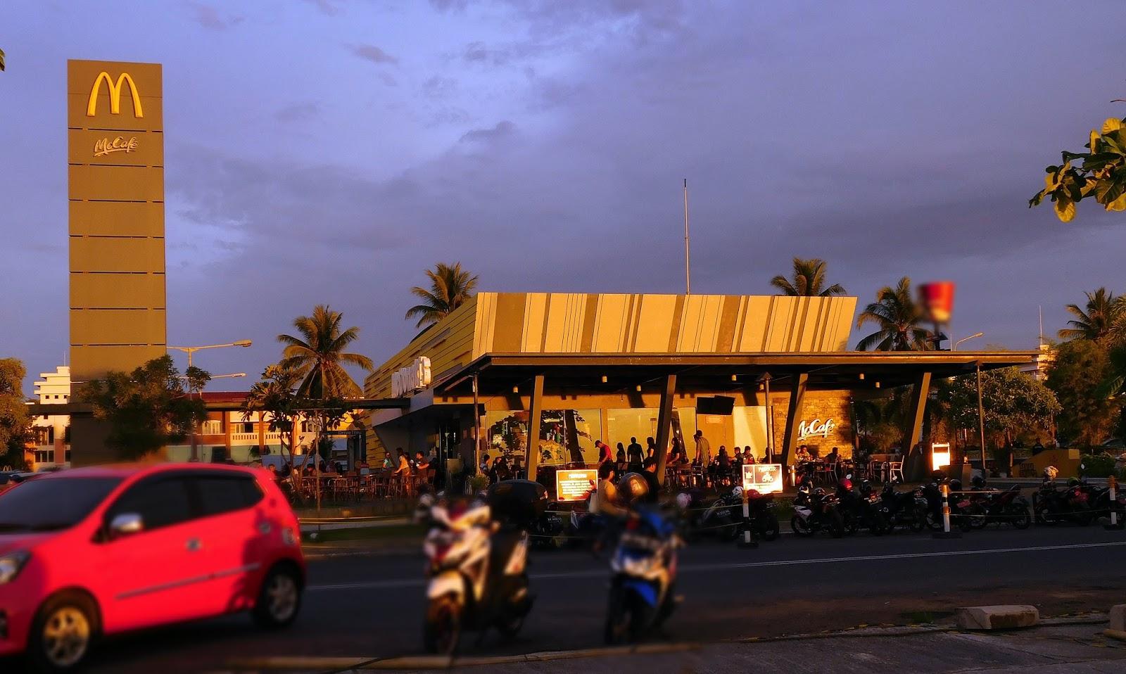 Manado City Mcdonald Berada Jalan Boulevard 2 Kota Sulawesi Utara