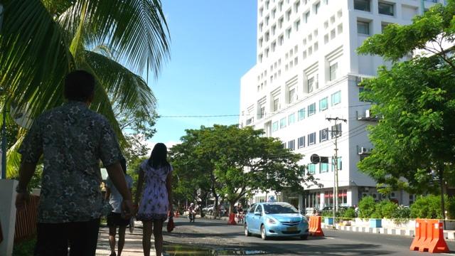 Manado Dinamis Suasana Kawasan Rumah Sakit Siloam Kota Jalan Sam