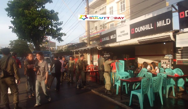 Rumah Makan Kuliner Kawasan Boulevard Tertibkan Pemkot Manado Pol Pp
