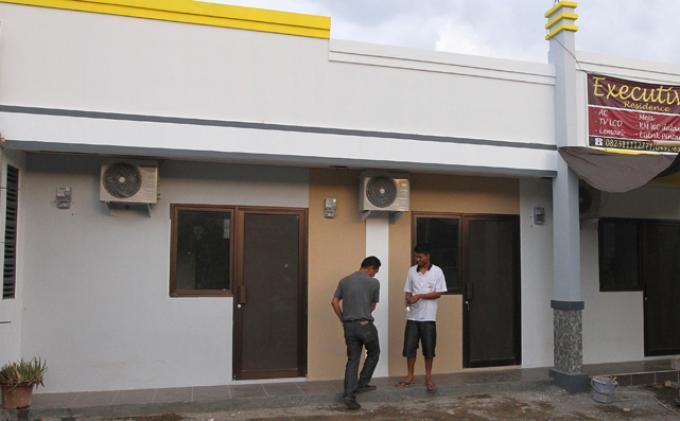 Wuih Rumah Kos Ilegal Manado Tribun Kawasan Boulevard Kota