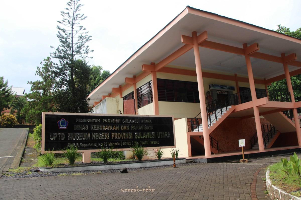 Berkunjung Museum Negeri Provinsi Sulawesi Utara Weecak Kota Manado