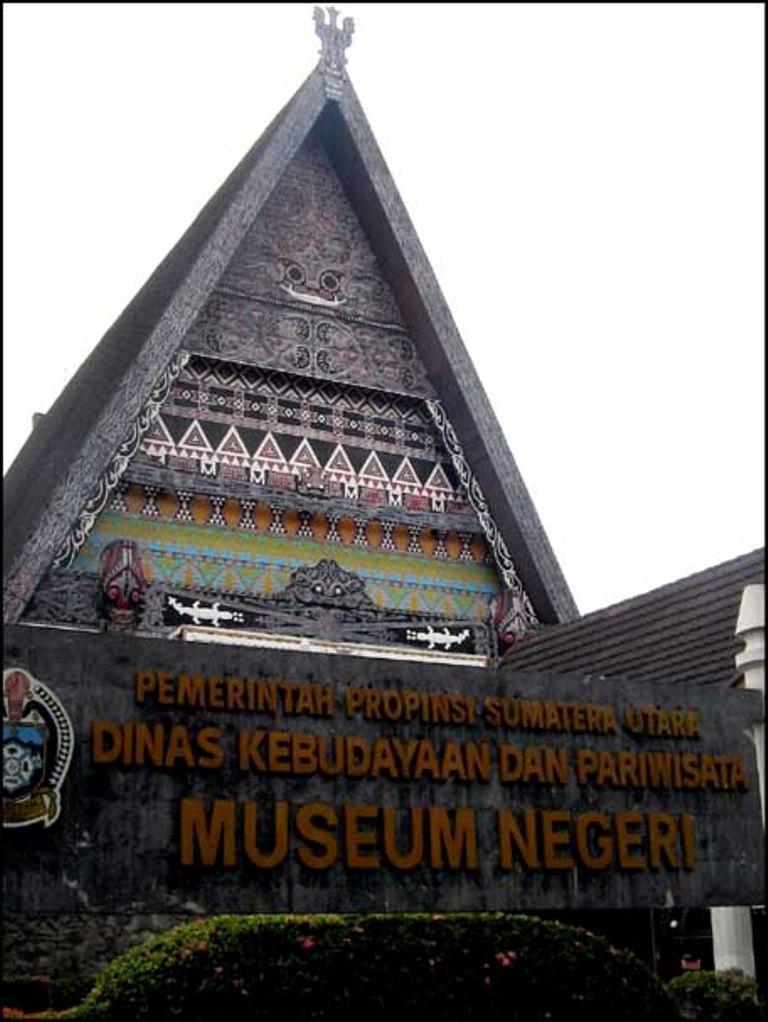 Museum Negeri Provinsi Sumatera Utara Terakhir Foto Lukisan Pahlawan Mantan