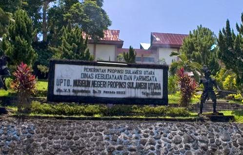 Popular Tourism Destinations Manado Indonesia Travel Guide Museum Negeri Sulawesi