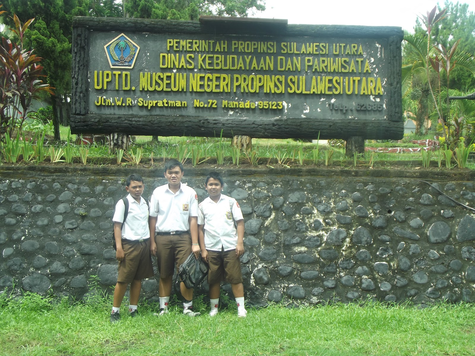 Senisulutku Informasi Mengenai Museum Negri Propinsi Sulawesi Utara Hai Kawan